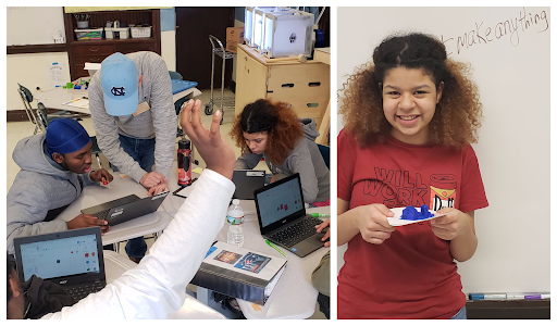 makerspace at Brighton High School