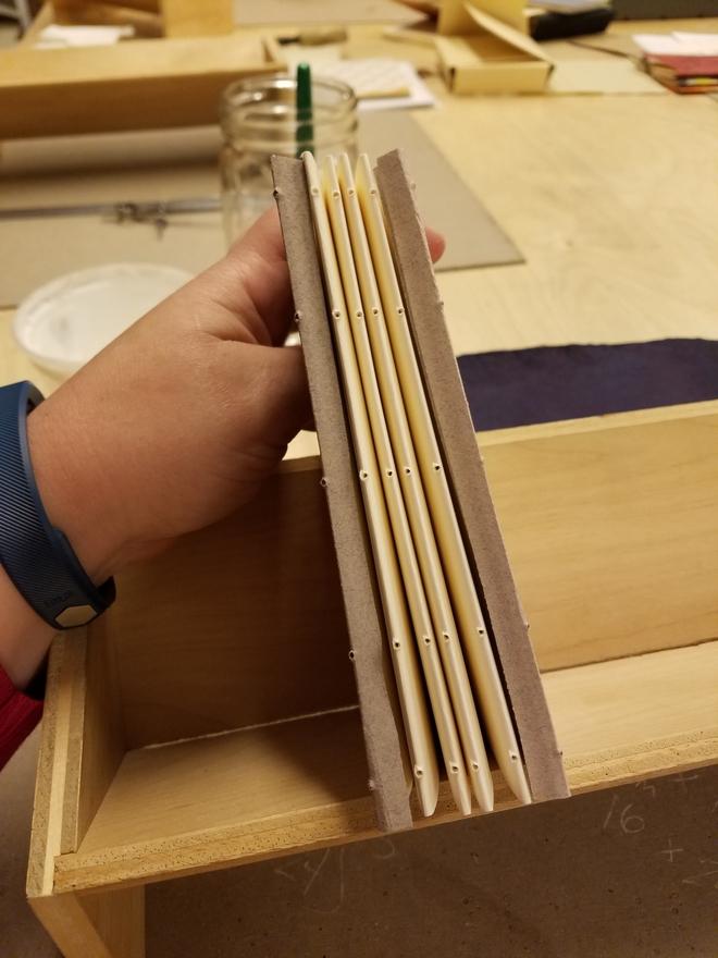 maker ed bookbinding example