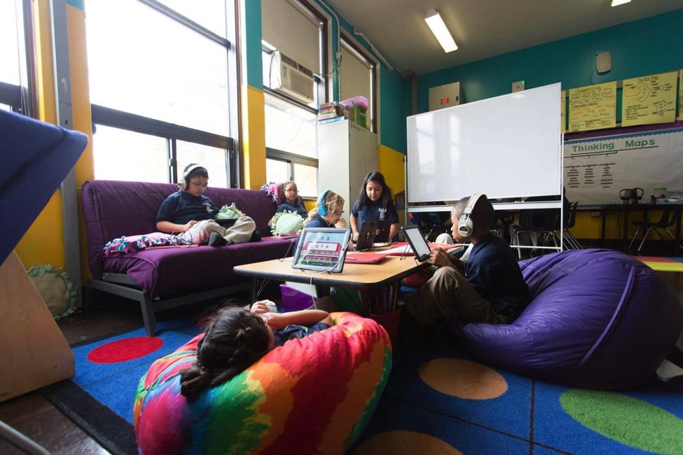 CICS West Belden Classroom seating