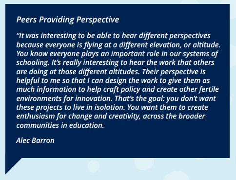 Peers providing perspective