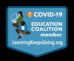 COVID-19 Education Coalition Badge