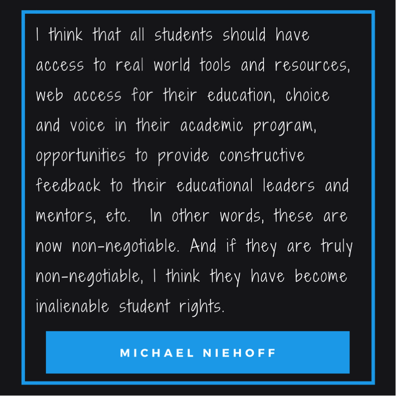 quote from Michael Niehoff