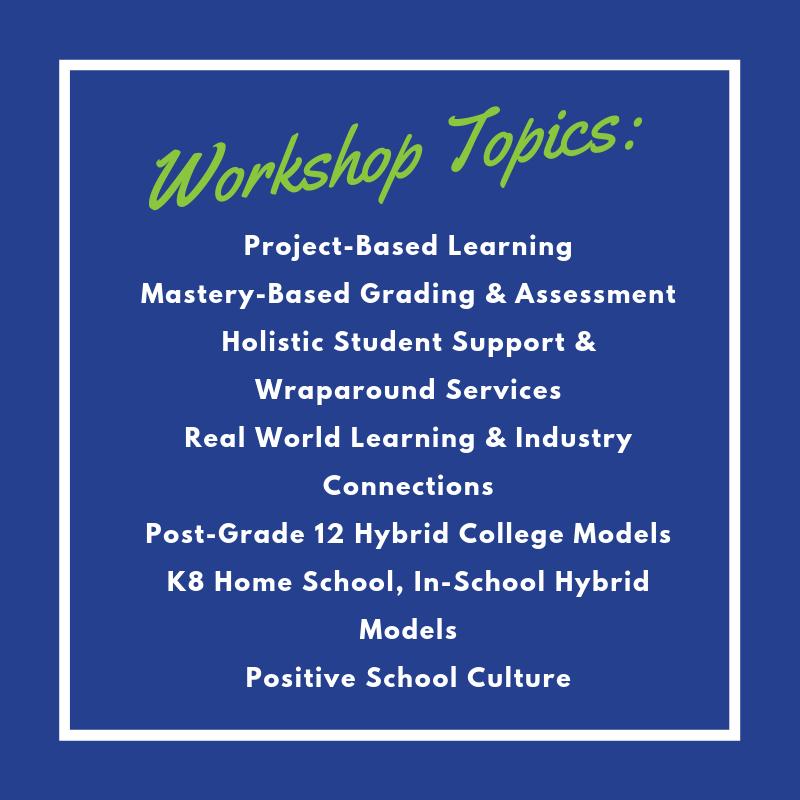 TLC conference workshops