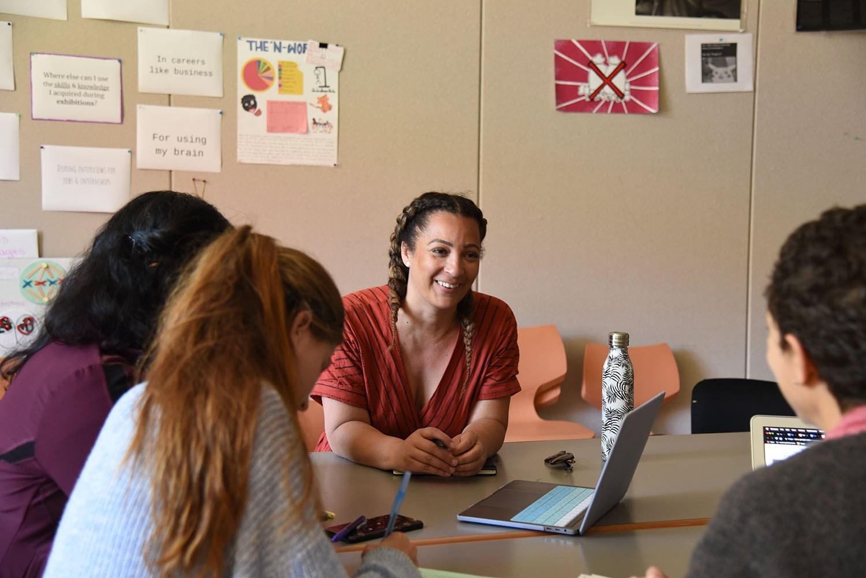 teachers and community partner