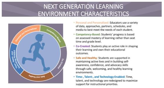 D11 vision for next gen learning