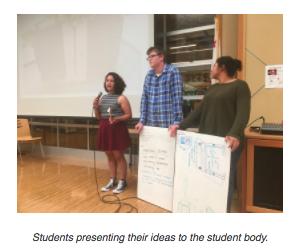 New Tech student presentation