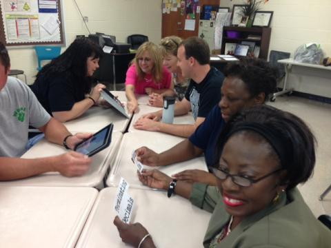 Whittemore Park Middle teacher collaboration