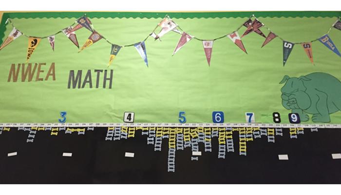 Math achievement on display
