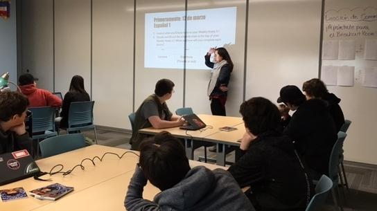 d.tech classroom