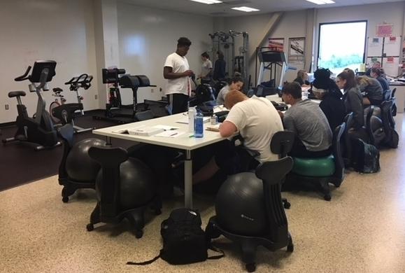 Butler Tech exercise lab