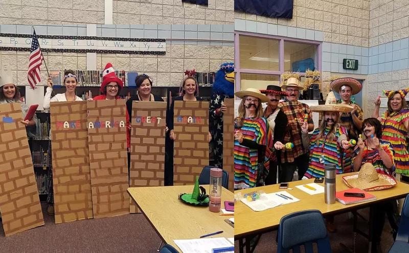stereotyped Halloween in Idaho school