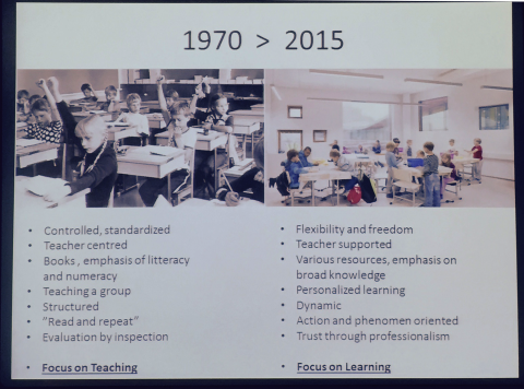 1970s education to 2015 in Finland