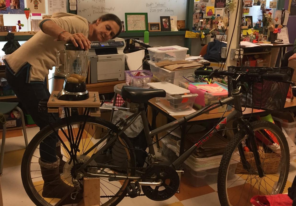 Teachers immersed in maker-based learning