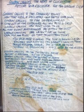 punk rock lyrics