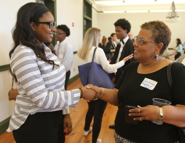 Student And Employer Meet And Greet