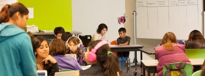 Summit Public Schools classroom