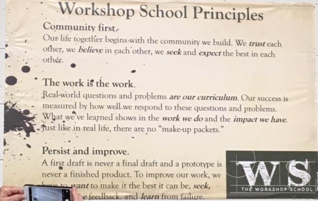 Workshop School Principles
