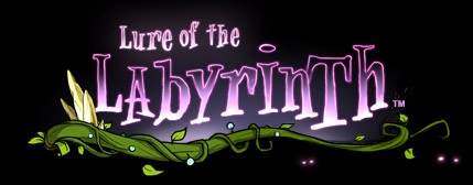 Lure of the Labyrinth logo