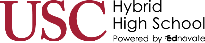 USC Hybrid High School logo