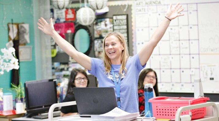 Joyful Teacher at Da Vinci Schools