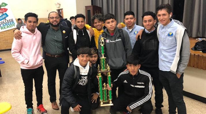 IHSLP champion soccer team