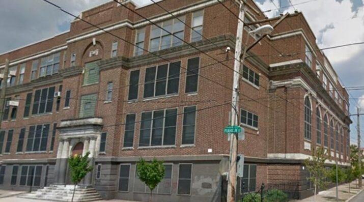 Building 21 school facade in Philadelphia