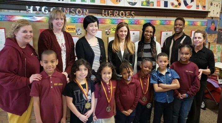 Higginson Elementary Boston