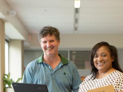 educators in library