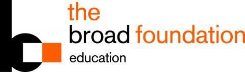 Broad Foundation education logo