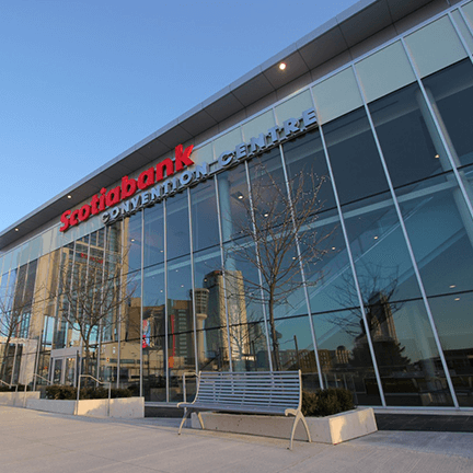 scotiabacnk convention centre main entrance