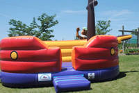 bouncing pirate ship