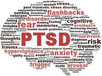 PTSD and trauma symptoms in the brain