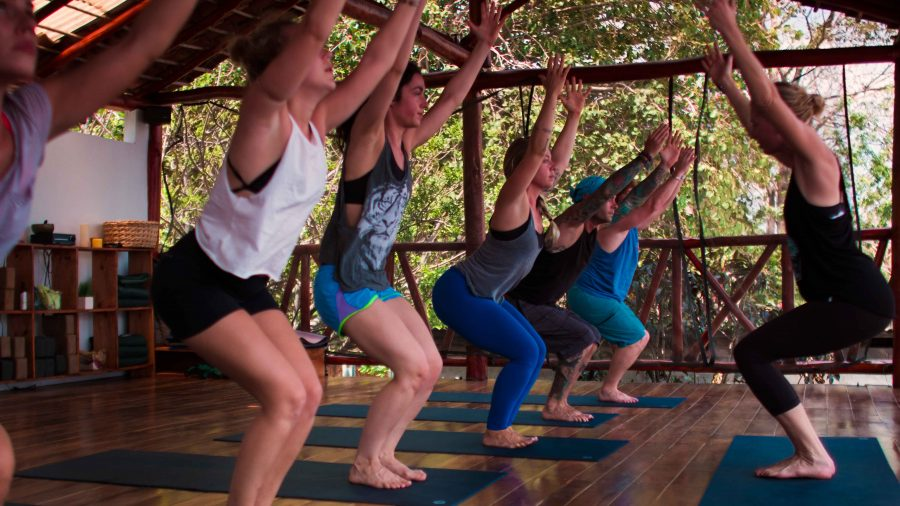 Zen Yoga Nicaragua Class Photo