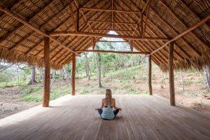 tree casa resort nicaragua yoga platform