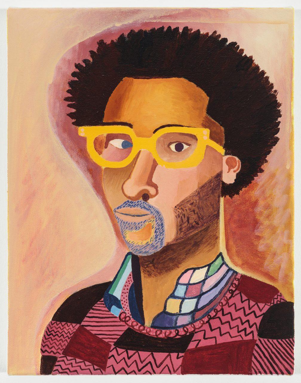 Alex Bradley Cohen | Self Portrait Yellow Glasses