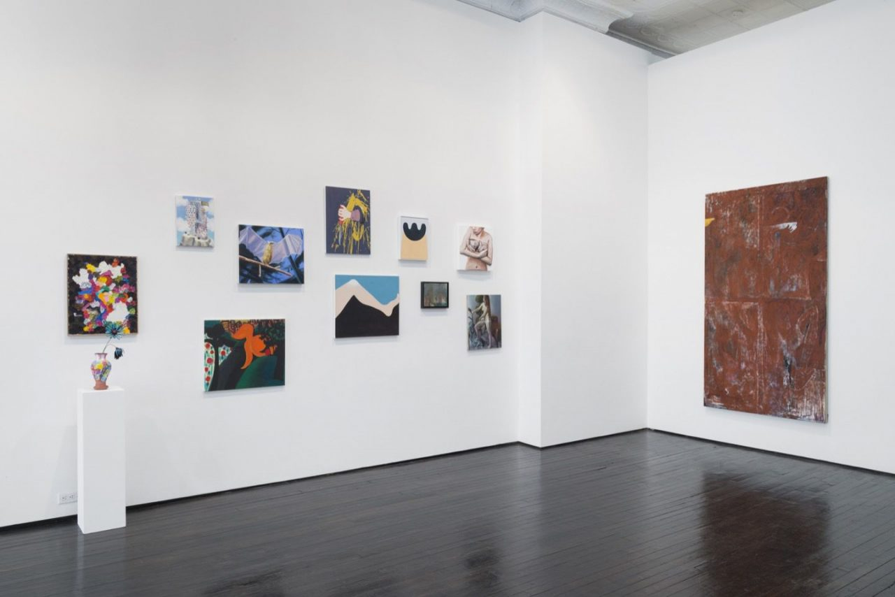 Let's Get Figurative | Installation view, Let's Get Figurative, 2015