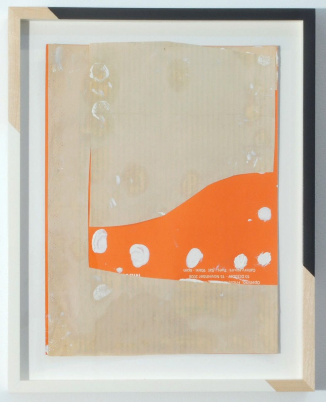 Jim Lee and The Cream Tones | Untitled (Cream/Orange/Kern), 2014