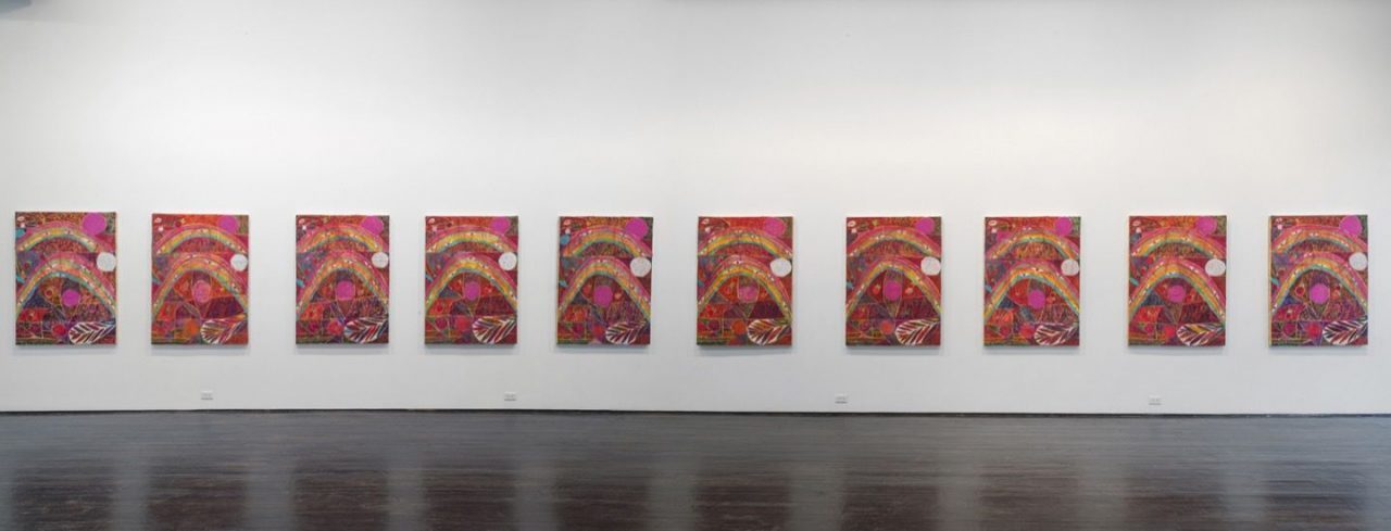 Eternal Feminine   Installation view, Eternal Feminine, 2014