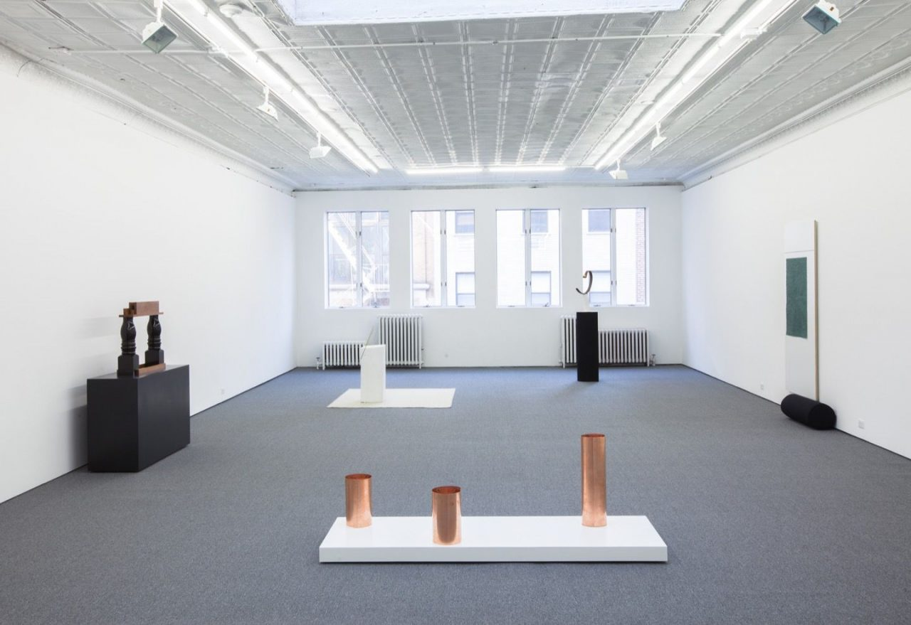 Columns | Installation view, Columns, 2014