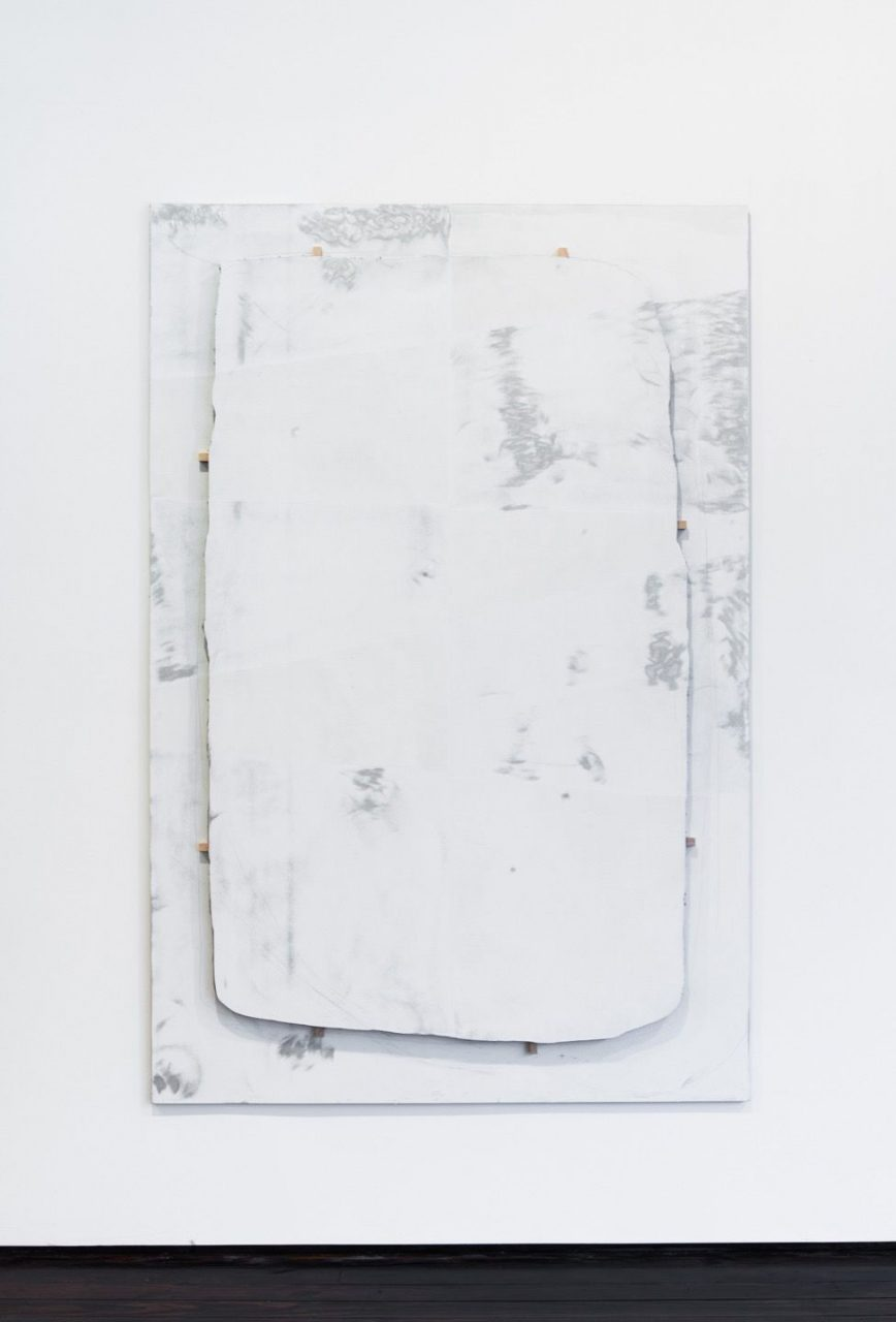 Please Be Clean When You Do It | Untitled (Cut White), 2013
