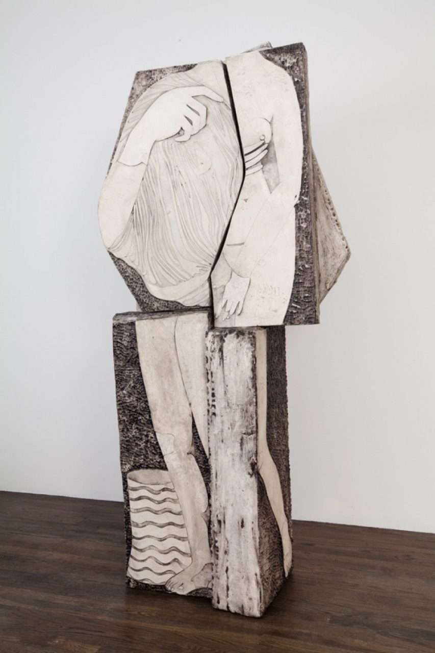 Inherited and Borrowed Types | Nude from Parts (Fig.1), 2010