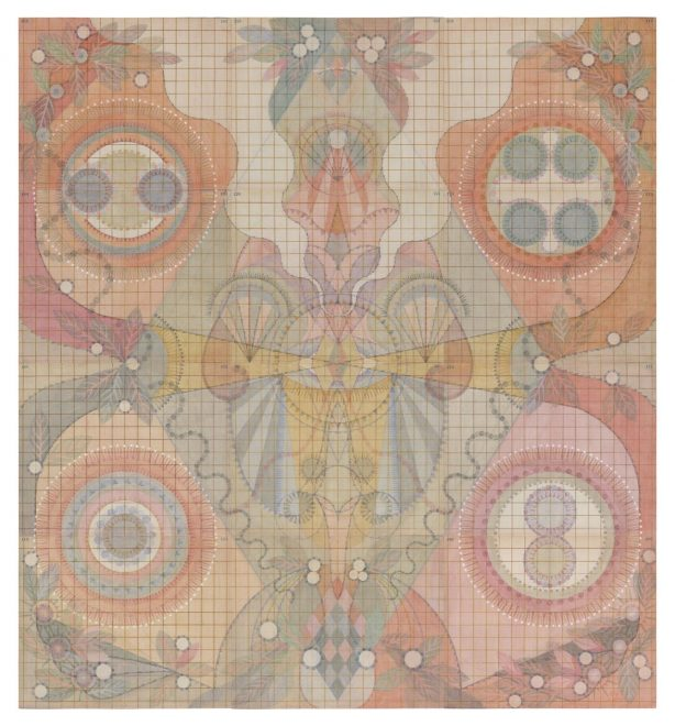 Louise Despont | Energy Scaffolds and Information Architecture (Embryo), 2015