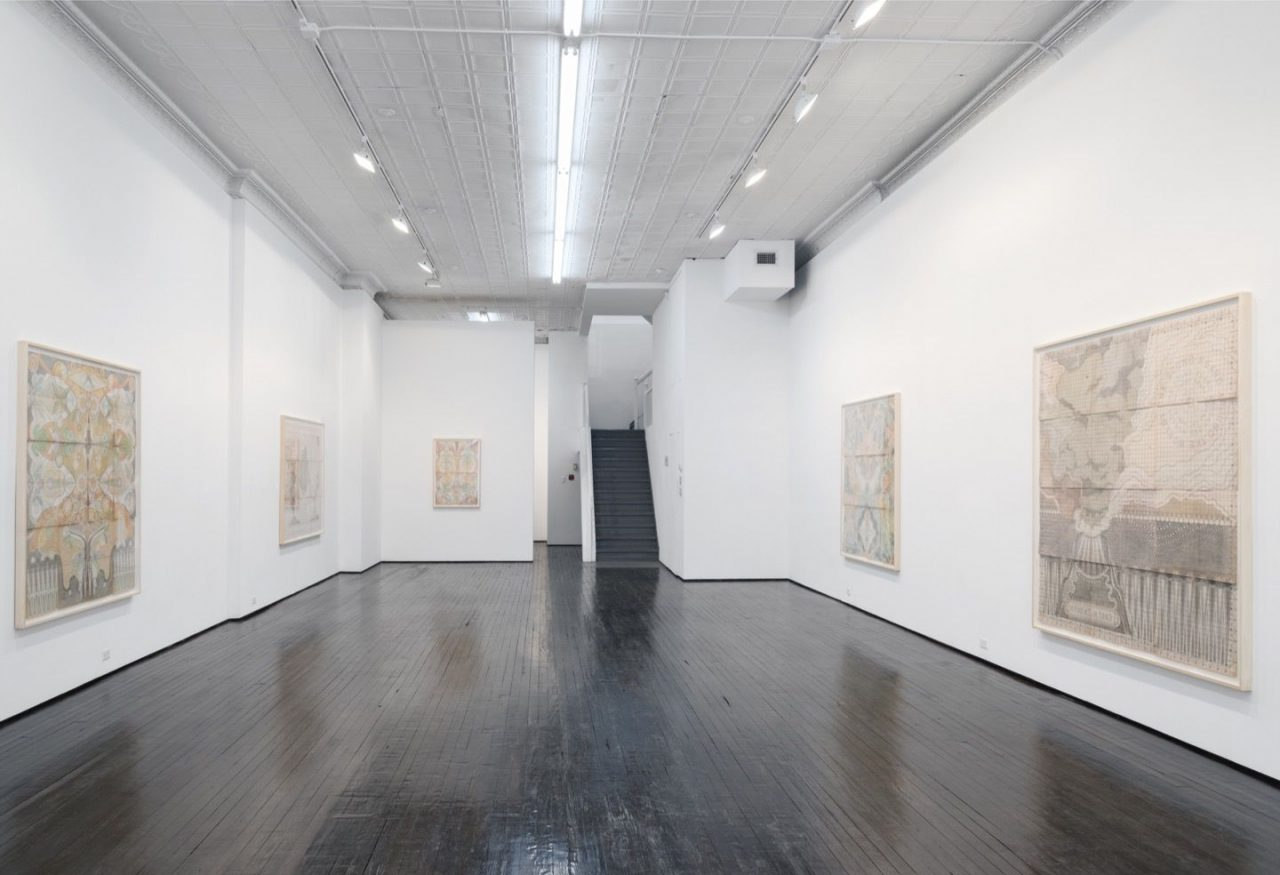 Louise Despont | Installation view, Harmonic Tremor, 2015