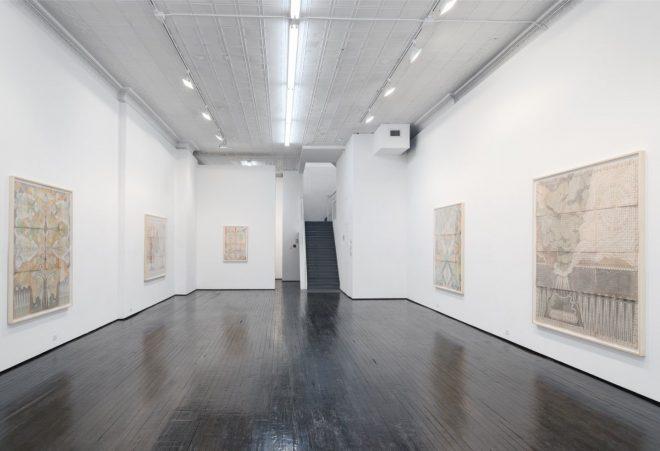 Louise Despont | Installation view, Harmonic Tremor, 2015
