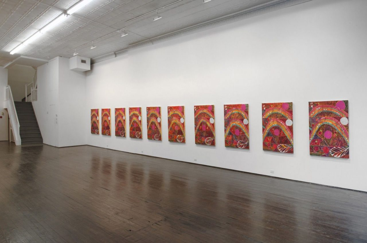 Alexander Tovborg | Installation view of Eternal Feminine, 2014