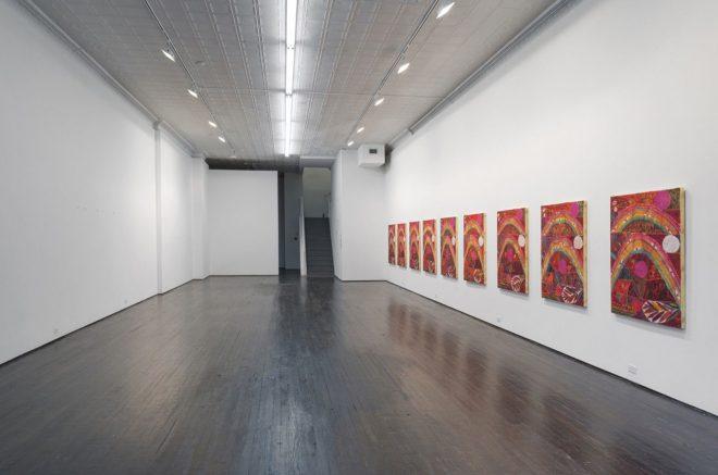 Alexander Tovborg   Installation view of Eternal Feminine, 2014