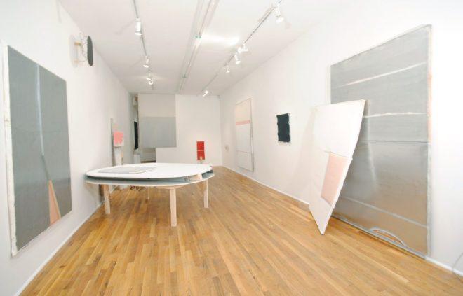 Jim Lee | Installation view of Woodshedding, 2010