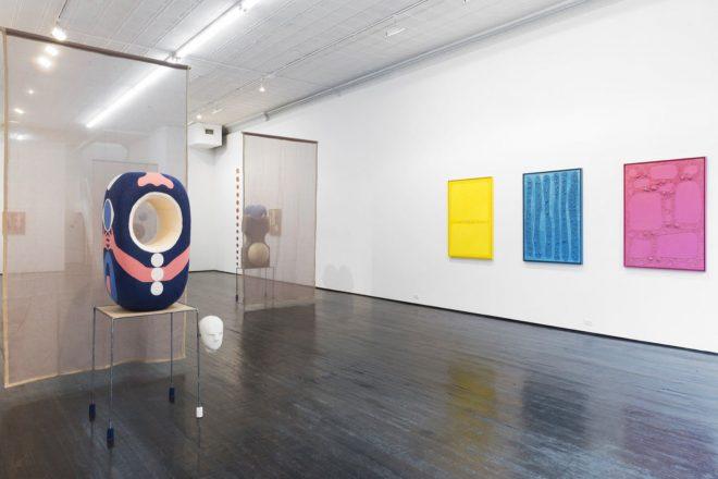 Jonathan Baldock | Installation view of The Skin I Live In, 2016