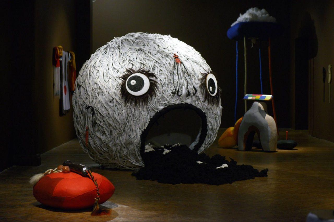 Jonathan Baldock | The Soft Machine, 2014  Installation view, Chapter Gallery, Cardiff, UK