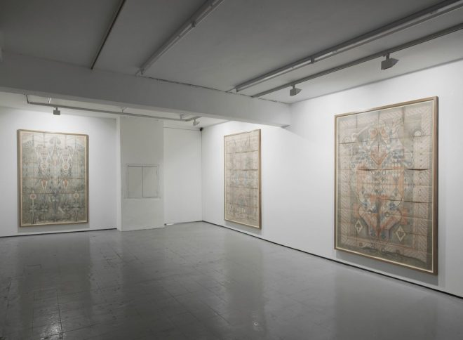 Louise Despont | Installation view, The Fool, IBID Projects, London, 2011